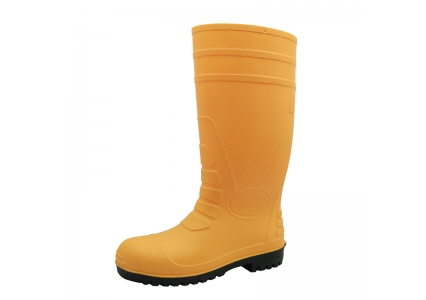 108-8 yellow steel toe safety wellington boots