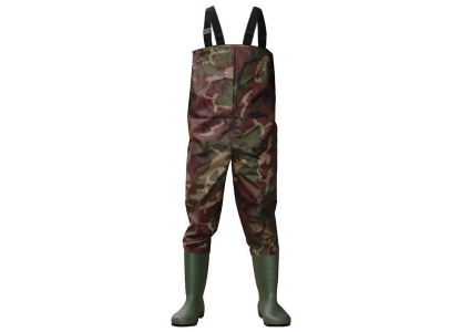 CW003 Camouflage nylon PVC men work fishing wader water proof chest wader
