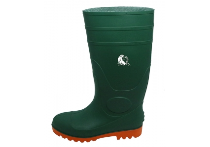 GOS steel toe safety rain boots for men
