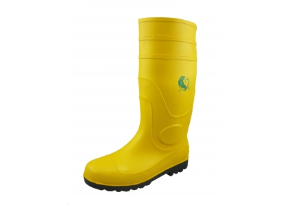 YBS chemical resistant waterproof pvc rain boots