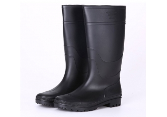 China 101-8 light weight cheap black pvc boots factory