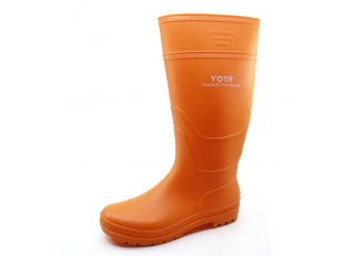 China 101-9 lightweight non safety matte pvc rain boots for work factory