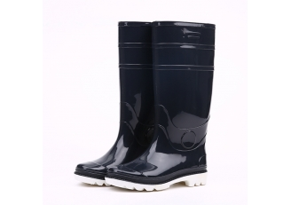 China 103-3 non safety glitter pvc rain boots factory