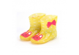 666-1 stylish ankle rain boots for kids