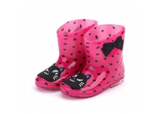 666-2 waterproof cute rain boots kids