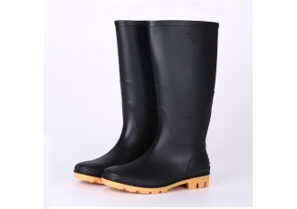 China ABYN Non safety waterproof plastic rain boots factory