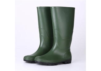China AGBN non safety farming pvc rain boots men factory