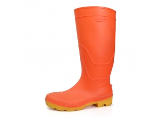 F35RY high cut chemical resistant matte pvc safety rain gumboots