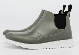 HNX-003 new style waterproof ankle rain boots for women and men