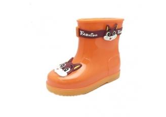 HS585 Fashion ankle rain boots for little girls