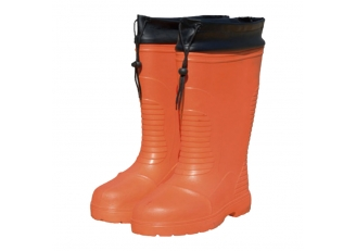JW-306 Anti-slip EVA safety rain boots with plastic toe cap