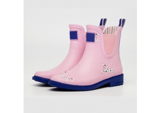 China RB-001 2017 new design fashion women rubber rain boots factory