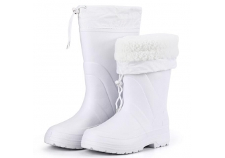 SQ-901 white food industry keep warm winter eva work boots men