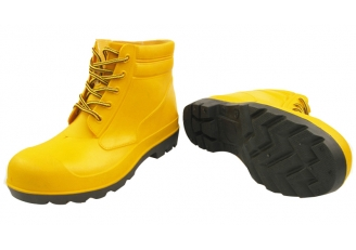 China YBA steel toe pvc safety rain shoes factory