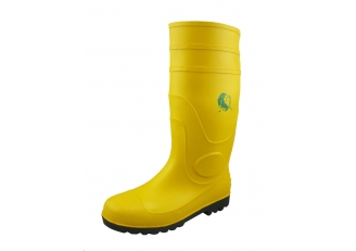 China YBS chemical resistant waterproof pvc rain boots factory